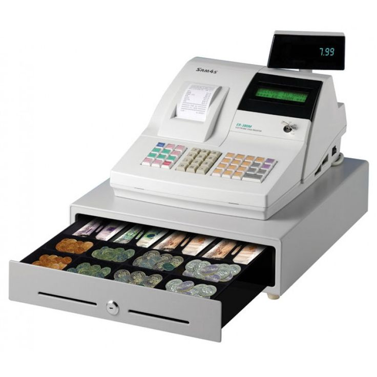 Buy SAM4S ER380M Cash Register with Thermal Printer and 2 Line LCD Display at Discounted rate $439.95 regular price $497.97 with FREE Shipping across Australia...!