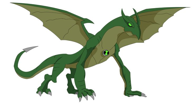 Ben 10 Alien Force Dragon by Zimonini on @DeviantArt