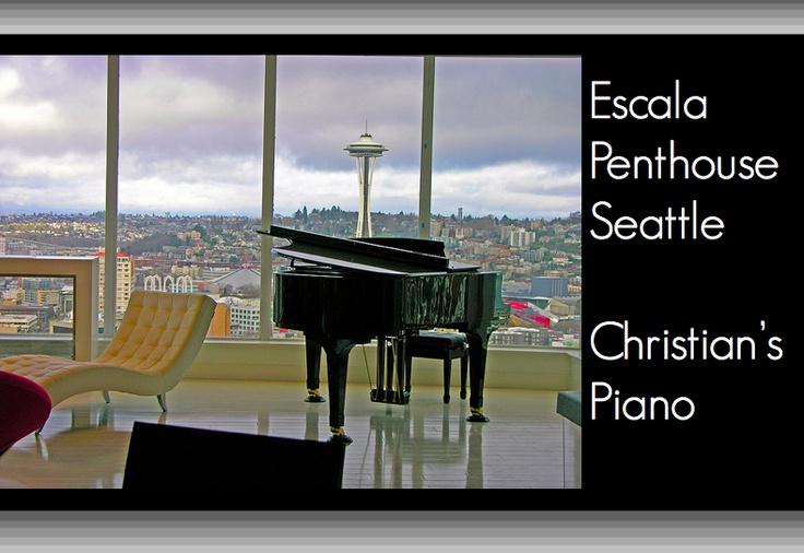 Escala Seattle Penthouse Christian Grey 39 S Piano