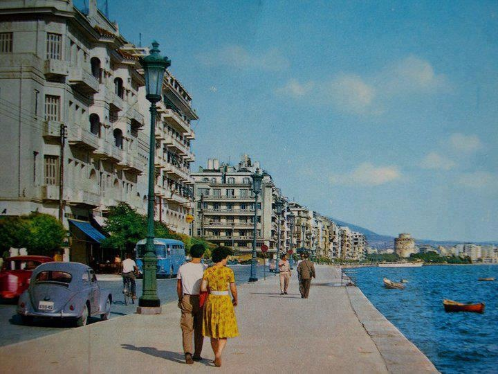 Thessaloniki,maybe in 60ies
