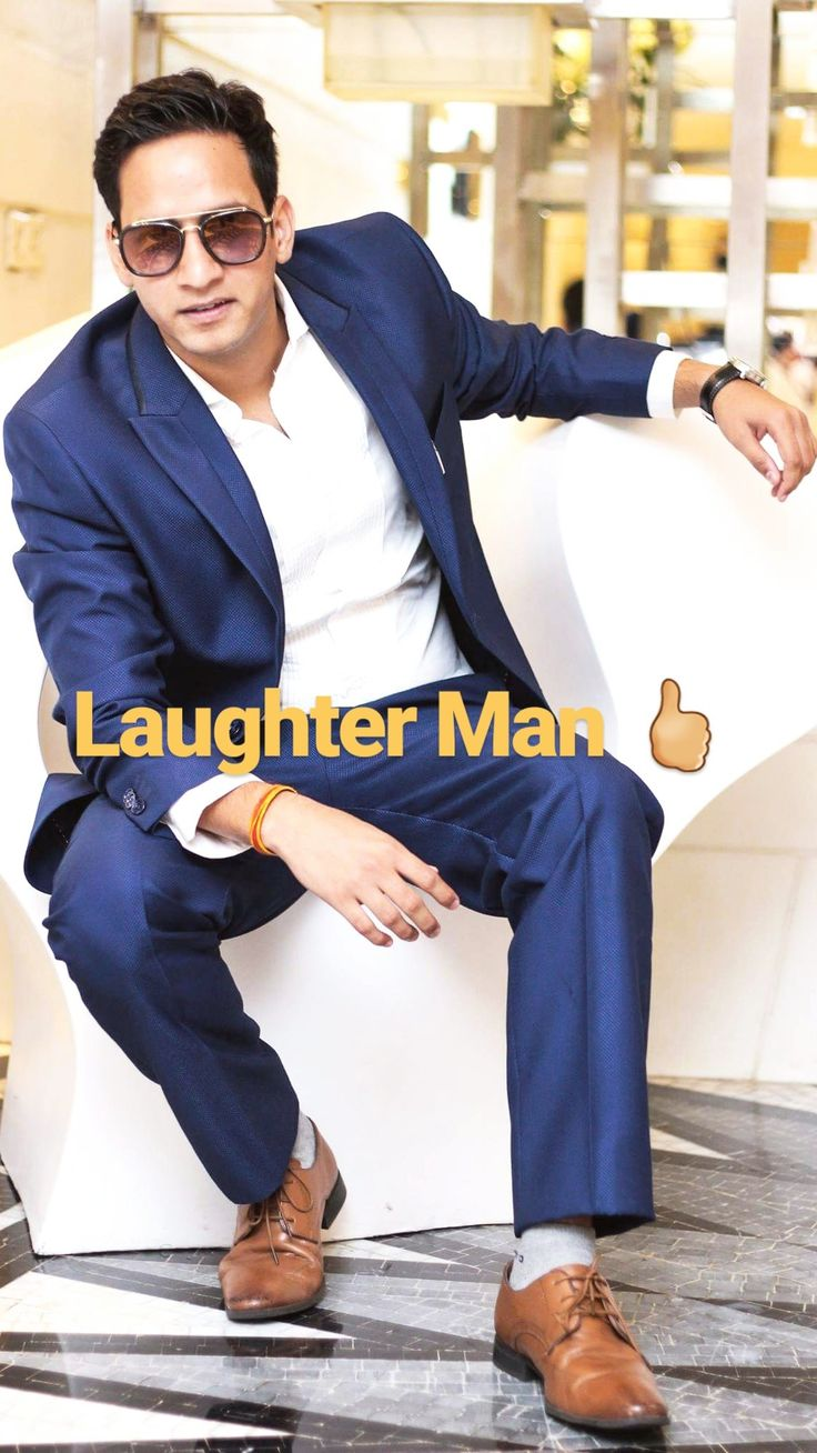 Laughter man 🖒
