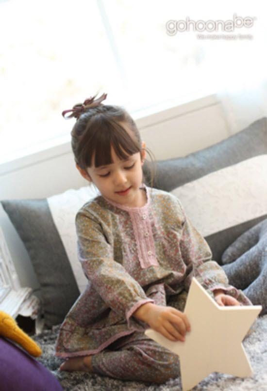 Gohoona Pajama Kids Sleepwear Cotton 100% Made in Korea #GOHOONA