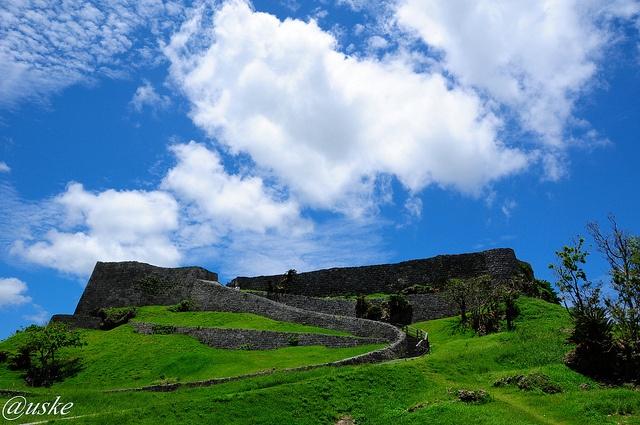 castle of world heritage #okinawa #japan