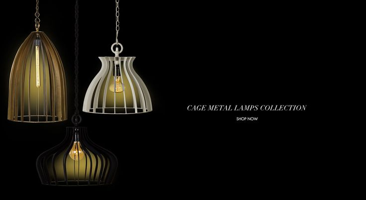 Our designer cage like industrial lamps emit an almost mystical light of fluctuating intensities and can be used in numerous settings, both at home and in commercial spaces: from avant-garde to more traditional spaces. Enclosed by an open geometric frame, these stylish metal lamps will put the final touch in any room in your home.    #cagelighting #industryinspired #shopnow #gulmoharlane