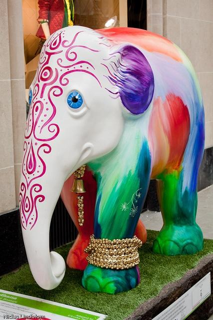 'Sadhana' - London Elephant Parade 2010; photo by Niclas99, via Flickr