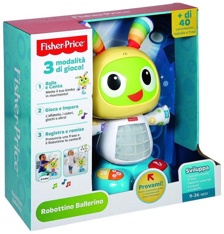 Fisher-Price CGV49 - Robottino Ballerino: Amazon.it: Giochi e giocattoli