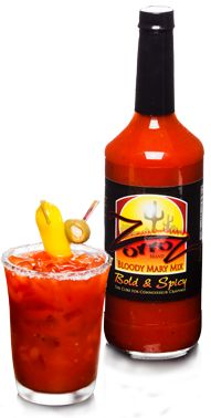 The absolute BEST bloody mary mix!!!