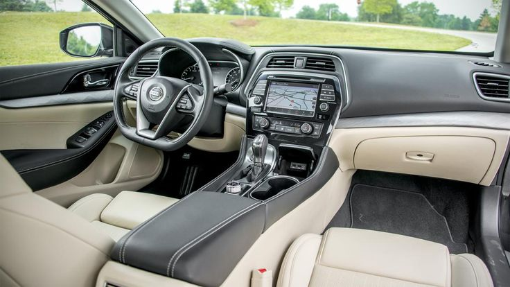 2016 Nissan Maxima and I love this interior!