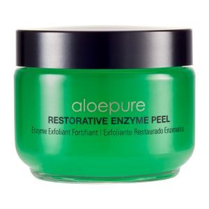 The Restorative Enzyme Peel is the product that made me first fall in love with Aloette!  Fruit extracts and Aloeganic aloe vera creates a 60-second Miracle Peel! Dead skin has met its match!