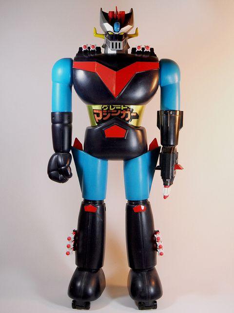 Mattel – Shogun Warriors – Jumbo Machinder – Great Mazinger – 1977