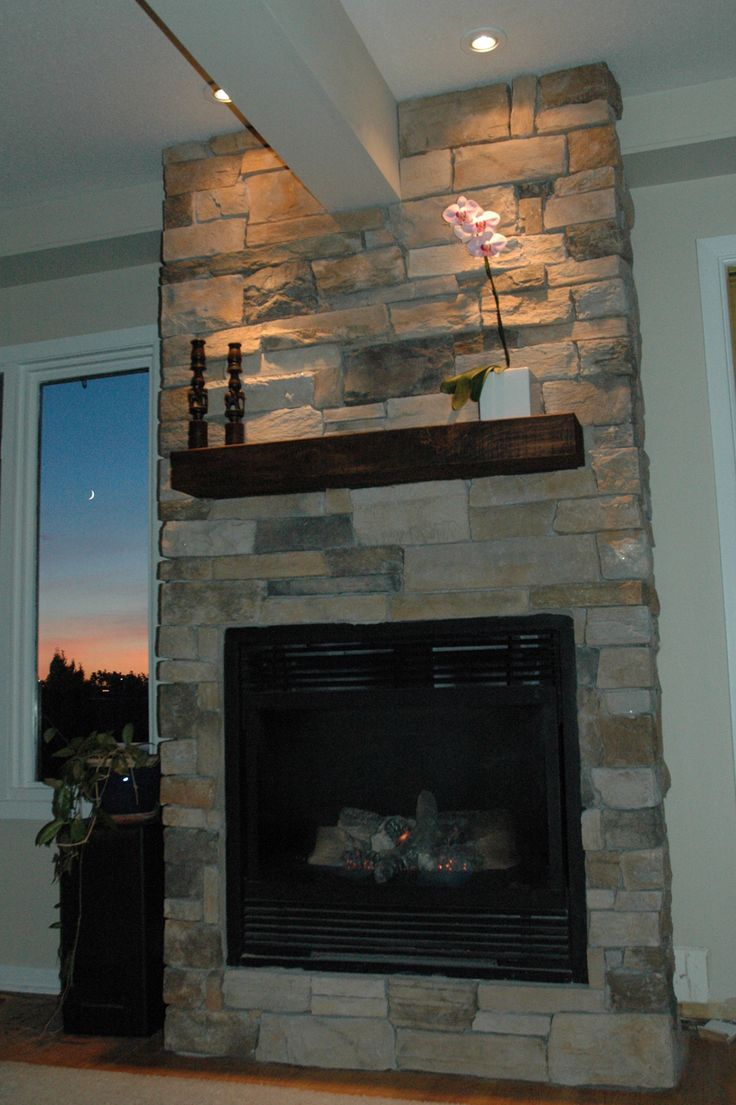 Fireplace Done With Cultured Stone Aspen Country