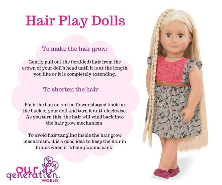 Here's some top tips for the #OurGeneration hair play #dolls!