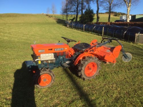 #Kubota #compact #tractor with rotovator,  View more on the LINK: 	http://www.zeppy.io/product/gb/2/322402200813/
