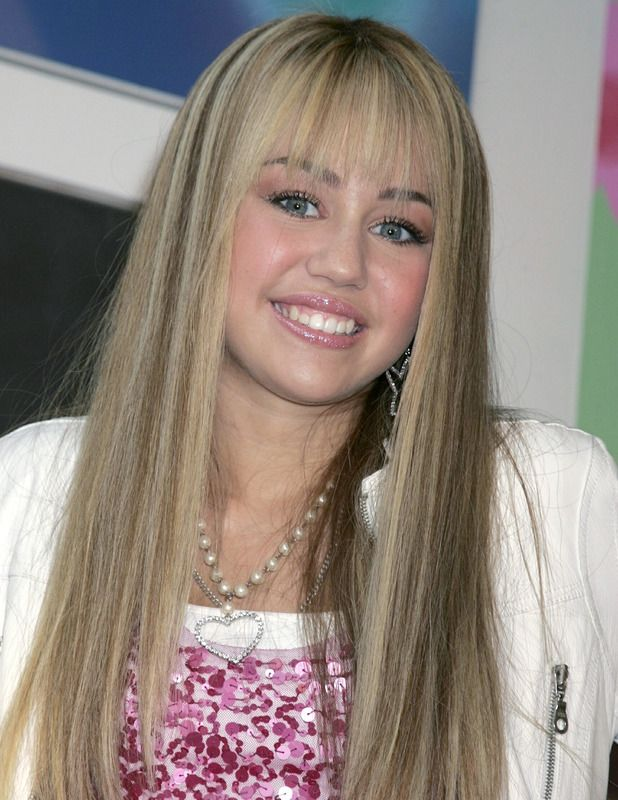Miley Cyrus Hannah Montana blonde hair 2007 - Miley Cyrus hair ...