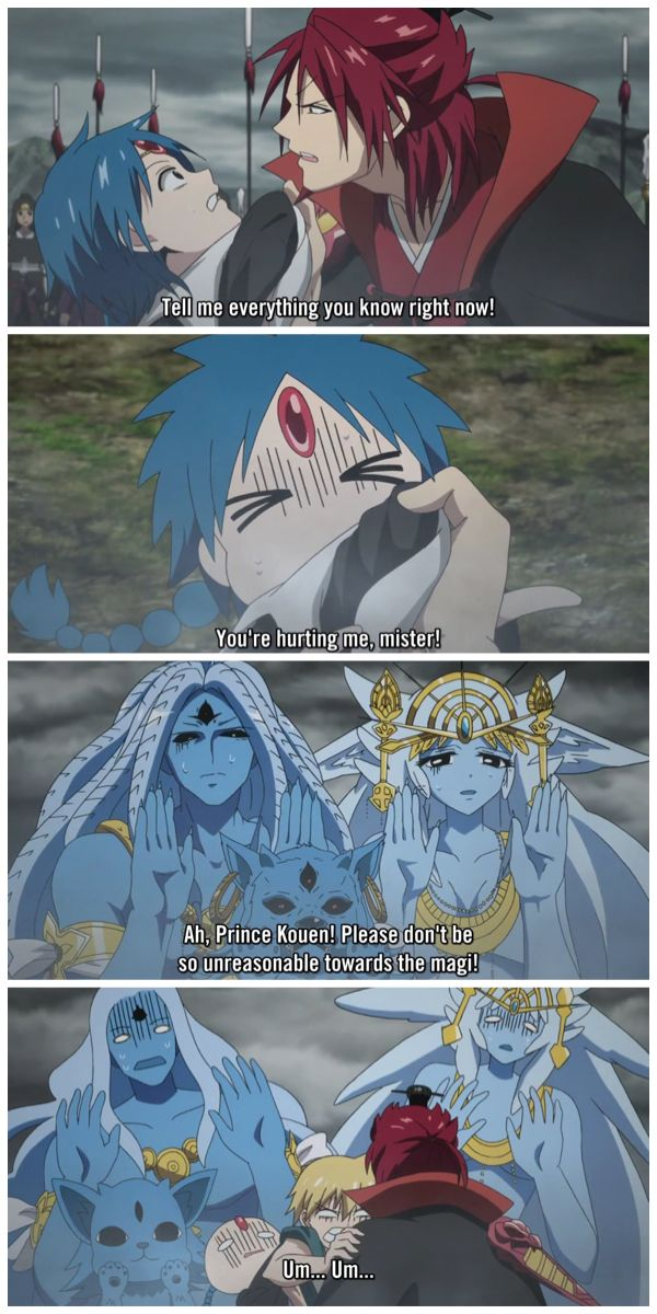 Magi: Kingdom of Magic Prince Kouen Ren