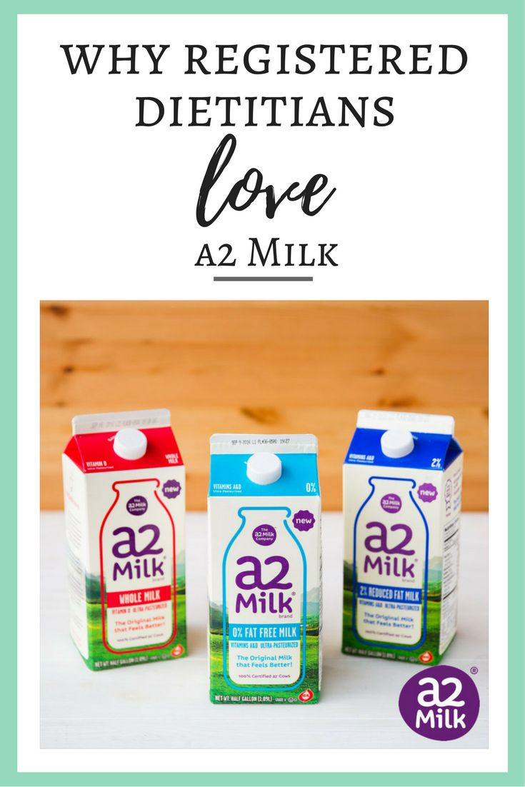 Have you heard of a2 Milk® before? We like to call it 'the milk for people who think they can't drink milk'. Continue reading to find out Why Registered Dietitians love a2 Milk® and what makes it different than other milk products on the market today.
