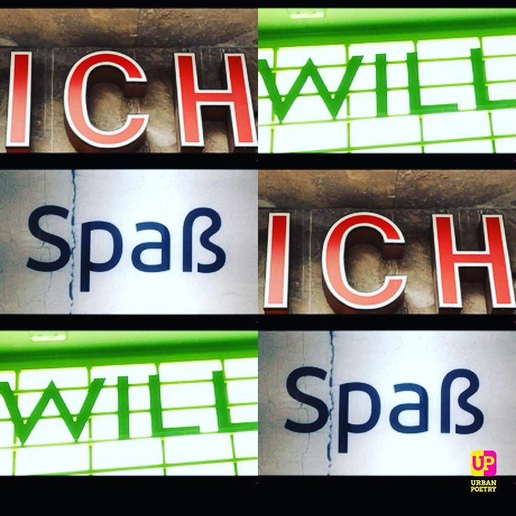 Neue Deutsche Welle   Du willst Spaß? Hol' dir die App ... https://itunes.apple.com/de/app/urban-poetry/id1000774472  #song #ndw #markus #urbanpoetry #berlin #wien #zürich