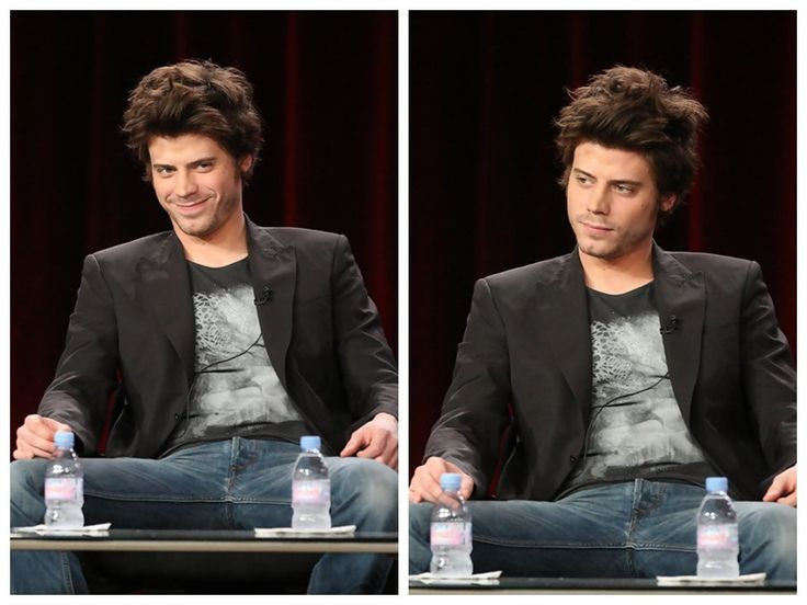 Francois Arnaud In Leather Pants
