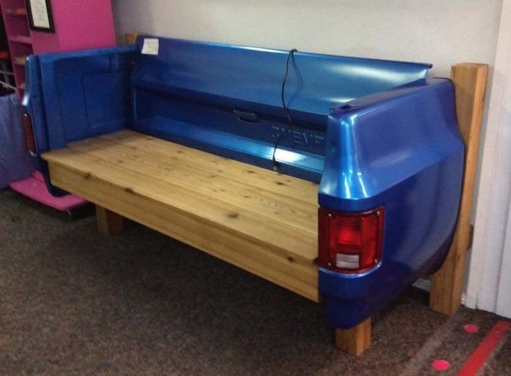 Custom Chevy Truck Bed Bench Tailgate Bench Made From A