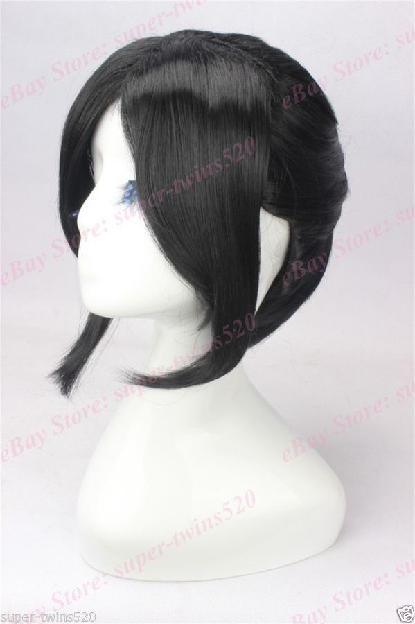 Black Hair Cosplay Wig With High Ponytail Anime Movie Wig By Yukimura Chiduru Wig High Cosplay With Images Cosplay Wigs High Ponytails Wigs