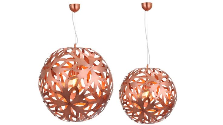 Flowa Pendant Copper from Domayne Online