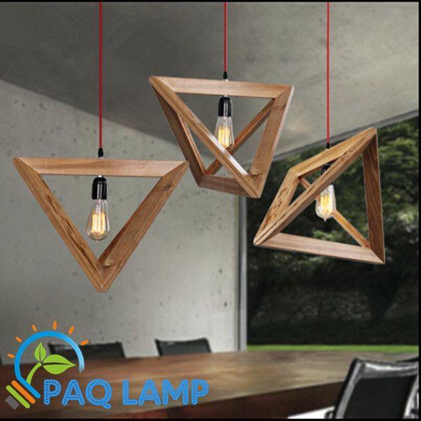 hanglamp moderne lamp hout restaurant bar koffie eetzaal opknoping lamp in Noot:Bijna alle lampen worden verzonden zonder lampen lichtbron, lampen als een geschenk aan jou, het is als het geschen van hanglampen op AliExpress.com | Alibaba Groep