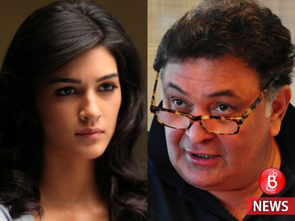 Kriti Sanon reacts to Rishi Kapoor's anger on young actors for skipping Vinod Khanna's funeral