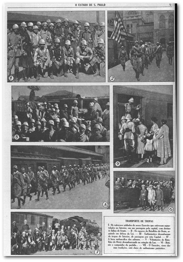 Rotogravura: a Revolução de 1932 em imagens raras - noticias - O Estado de S. Paulo - Acervo Estadão