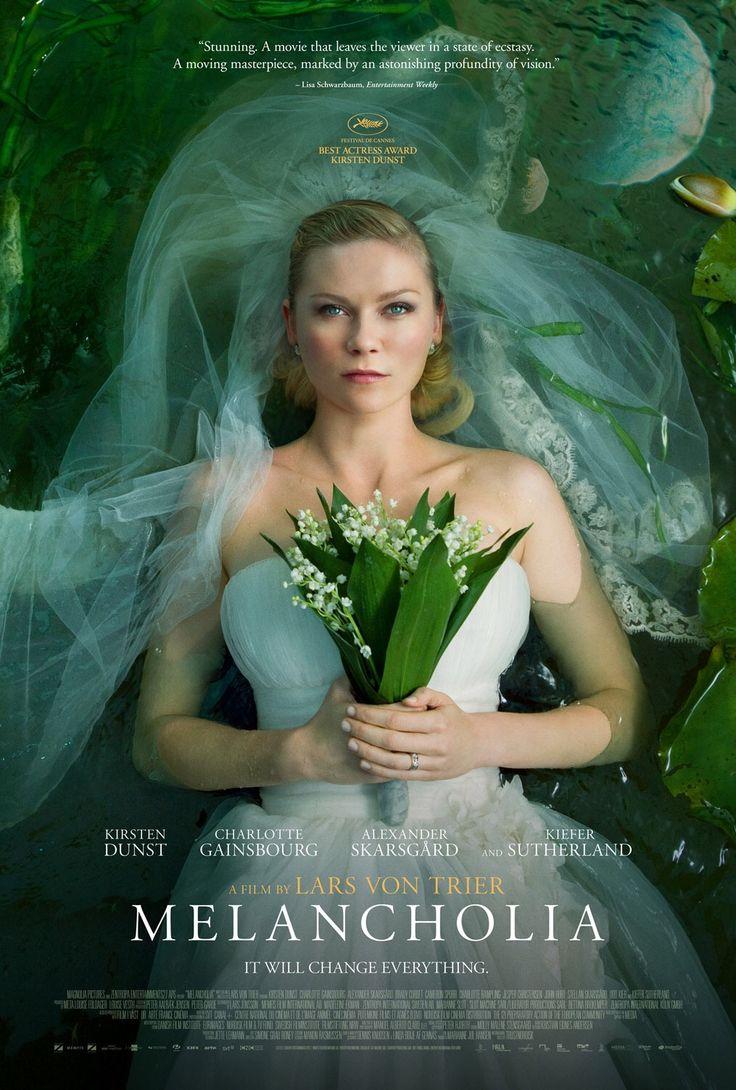 """""""Melancolía"""" (Lard von Trier, 2011) con Kirsten Dunst, Charlotte Gainsborough y Kiefer Sutherland."""