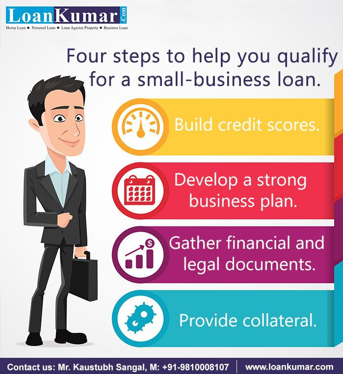 4 Steps To Help You Qualify For A Small Business Loan Loan Application Approved Loankumar Loans Loancha Small Business Loans Business Loans Build Credit