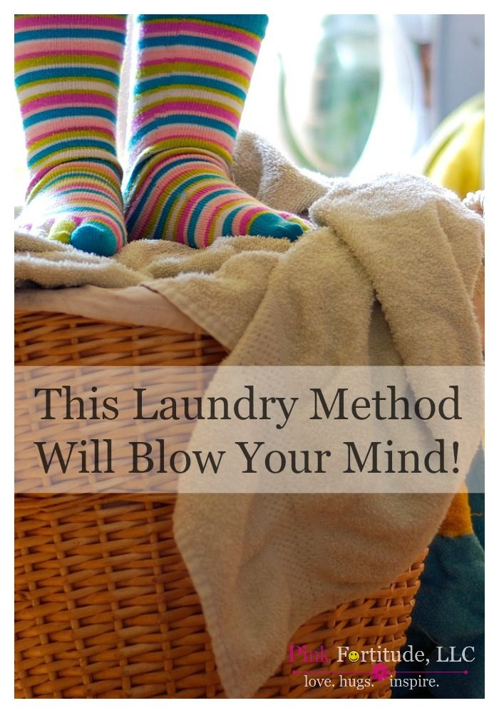 This laundry method will blow your mind. How to love laundry day again. by coconutheadsurvivalguide.com
