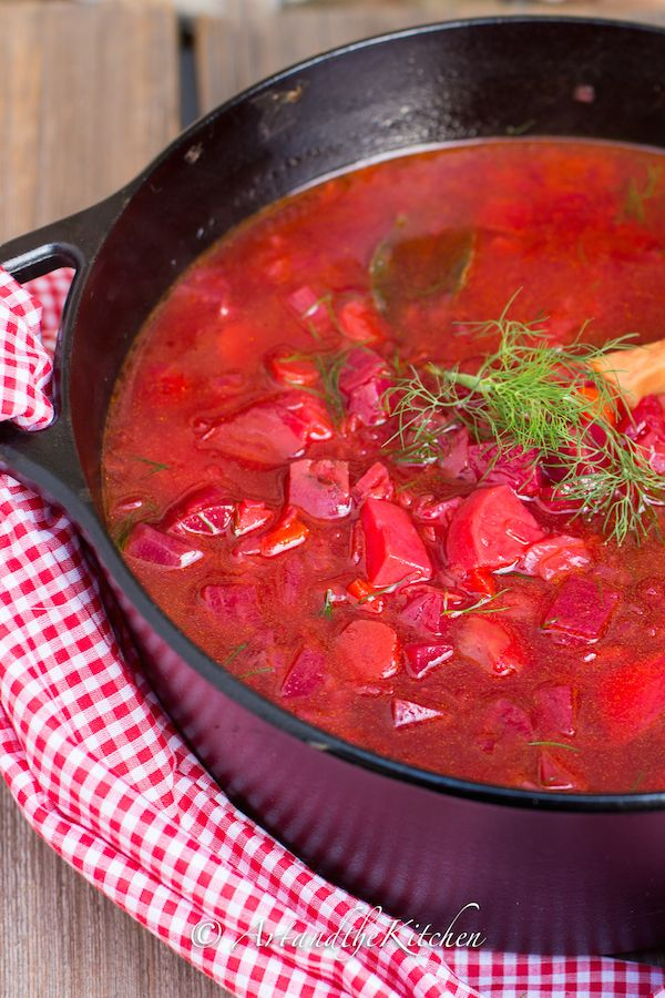 (Canada) Best Ever Homestyle Borscht made with farmer market fresh produce!