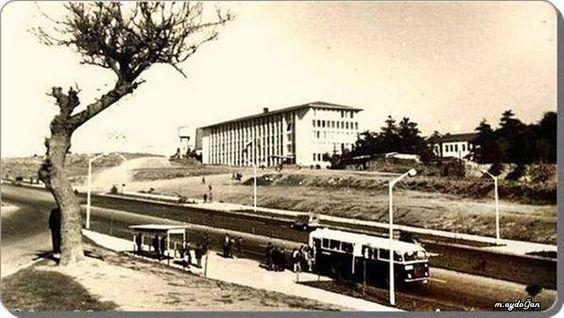 Beşiktaş Barbaros Bulvarı Yıldız Teknik Universitesi (1960'lar)