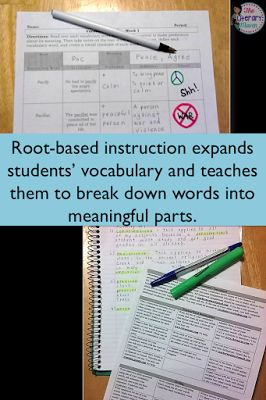 Finding a homework routine that is meaningful for students and manageable for teachers can be a challenge. Try out root-based vocabulary instruction and use homework calendars to help your students and yourself get organized and stay on top of assignments.