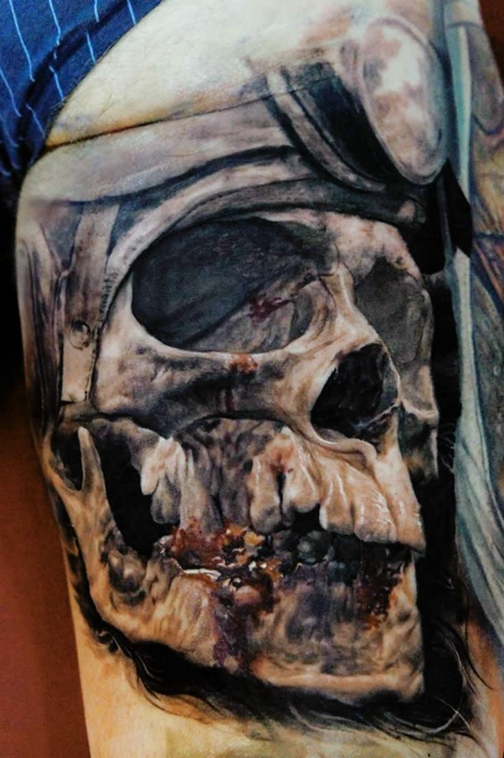 Illusion: Recently featured in Total Tattoo magazine, Lithuanian artist Domantas Parvainis is definitely capturing peoples' attention with his in-your-face 3D tattoos. http://illusion.scene360.com/art/44279/taking-tattoo-realism-to-a-new-level/