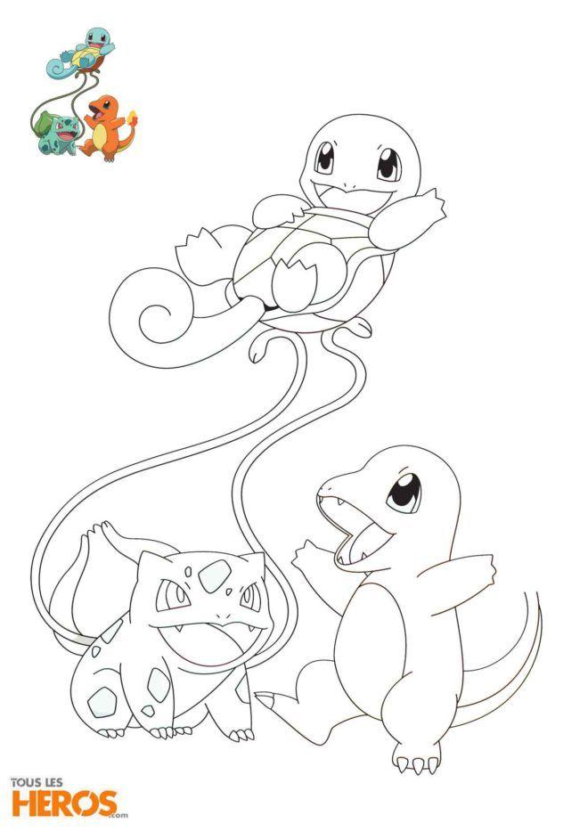 Kheber23 Pinterest Pin Coloriage Pokemon Salameche Carapuce Et