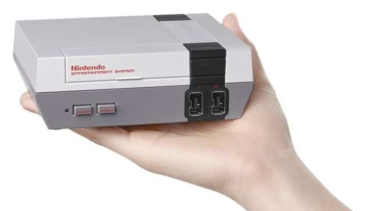 """Nintendo today announced the mini-NES, a $60 machine that will come pre-installed with 30 classic Nintendo games. It'll also come with an HDMI cable, a power adapter, and what Nintendo is calling an NES Classic Controller, """"patterned after the iconic design of the original NES controller."""""""