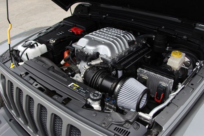 Wrangler Jl Gladiator Jt 6 4l Hemi Srt Supercharged 6 2l Hemi Srt Hellcat V8 Conversions Jeep Gladiator Jeep Wrangler Unlimited Rubicon Jeep Wrangler Rubicon