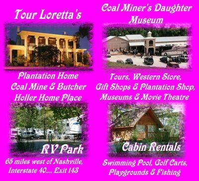 Loretta Lynn's Ranch- Hurricane Mills, TN- Passport America Campgrounds
