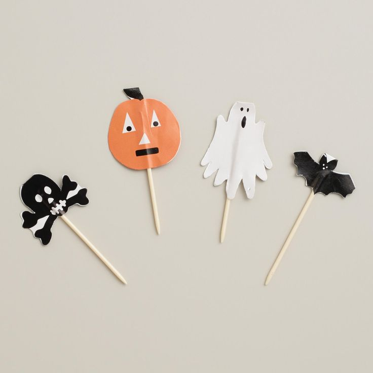 Halloween Cupcake Toppers, 12-Count | World Market