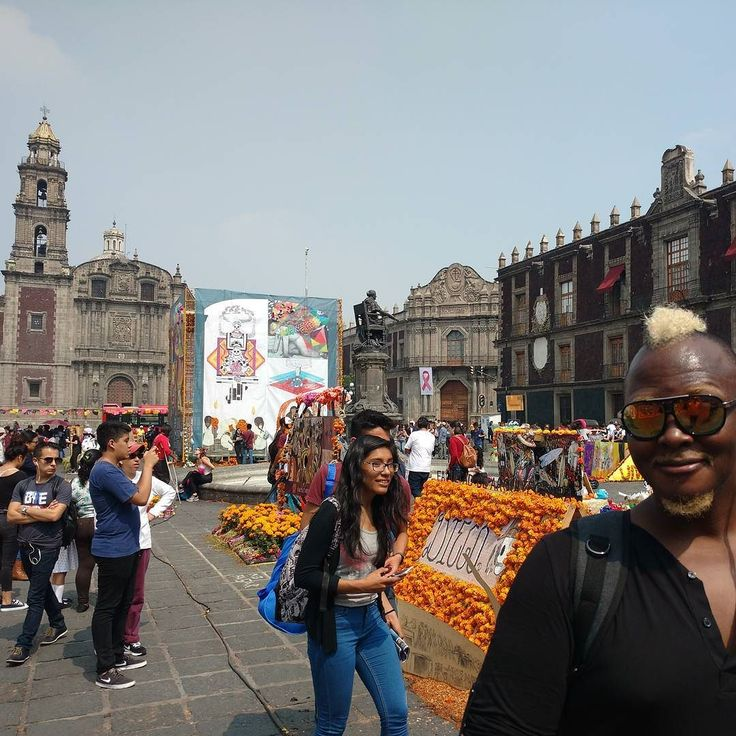 #DíaDeMuertos en @mexcitygaytours #OfrendaUNAMcentro #ExAduana #ExInquisición #TemploDeSantoDomingo #CDMX