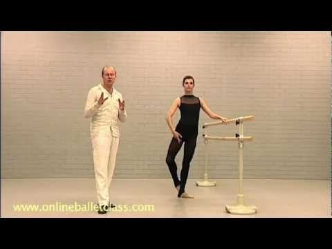 Stretching exercises - Online Ballet Class