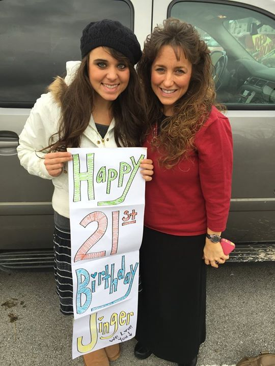 Jinger Duggar celebrated her 21st birthday on Dec. 21, but that doesn't mean she partied it up like many Americans turning the milestone age do because the 19 Kids And Counting family does not drin...