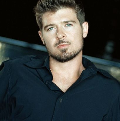 Robin Thicke... love the smooth sound of his voice, evolution album all the way