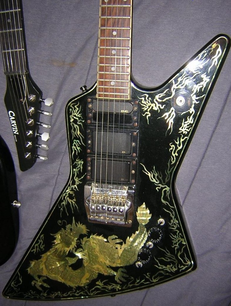 34 best guitar images on pinterest guitars guitar building and music 1987 custom shop lotus dragon explorer guitar only 50 made real hand cheapraybanclubmaster Image collections