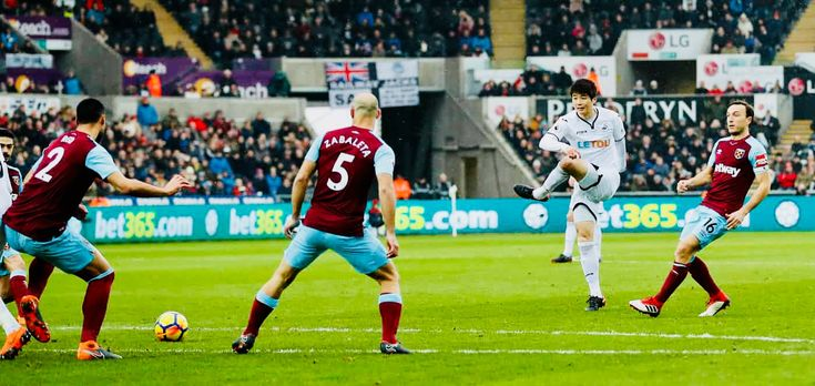 Week 29 : Swansea City 4-1 West Ham - Sung-Yueng Ki (Photo credit : Andrew Boyers/Action Images via Reuters)