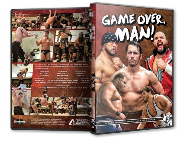 Pro Wrestling Guerrilla - Game Over Man Blu-Ray