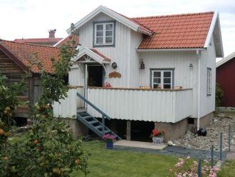 Hyra stuga i Gullholmen. Stuga på pittoreska Gullholmen.