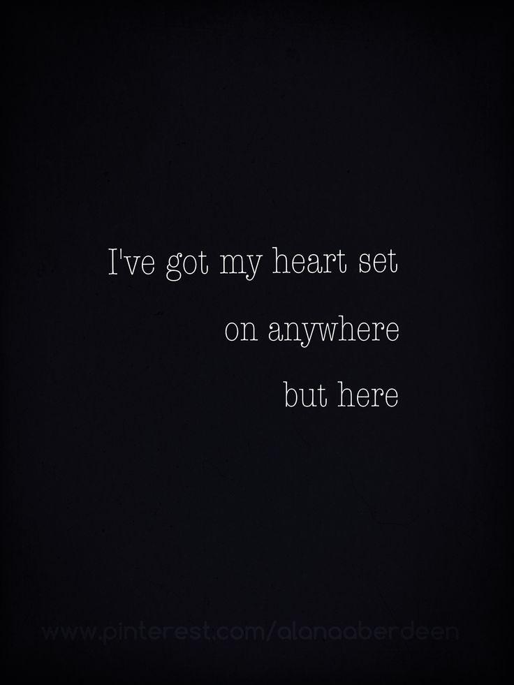 OneRepublic - Stop & Stare | I've got my hear set on anywhere but ...