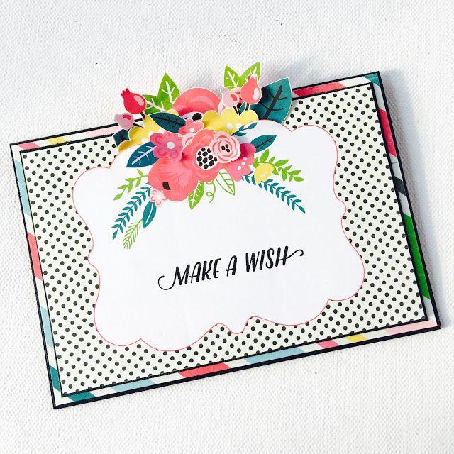 Make a Wish Birthday Card by Angela Tombari for Crea il Tuo Kit con Angela & Giorgia June 2017